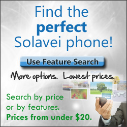 Find the PERFECT Solavei phone for you.  By price or features.